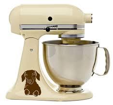 Purple Kitchenaid Mixer by Dachshund Puppy Dog Kitchenaid Mixer Mixing Machine Decal Art
