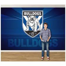 pro art canterbury bulldogs full wall mural large big w pro art canterbury bulldogs full wall mural large