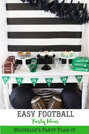 35 best sports theme party ideas images on pinterest football