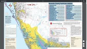 Sarasota Map Sarasota County Hurricane Shelters And Other Important Information