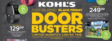 kohl s black friday deals ad scan the gazette review