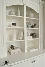 shelving makeover how to create cohesive built ins kelley nan