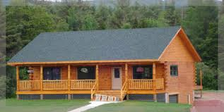 ranch style log home floor plans mohawk ranch style log home treetop homes michigan home plans