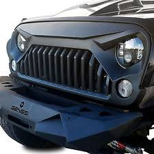jeep wrangler front grill upgrade angry bird topfire front matte grill grille for jeep