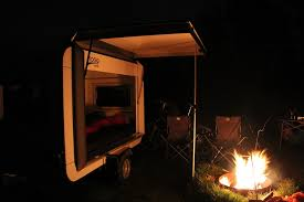 Flat Packed Portable Fire Pit From Boutique Camping Uk - mogo freedom gullwing trailer hauls outdoor gear sleeps two