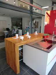 ilot cuisine sur mesure ilots central pour cuisine plan snack bois massif sur mesureflip