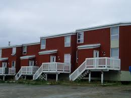 inuit row houses inuvik apartments northern property reit