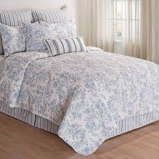 Black And White Toile Bedding Blue Toile Bedding Sets 2570