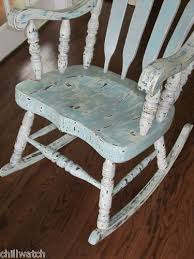 Let Me Be Your Rocking Chair Vintage Cottage Painted Shabby Chic Rocking Chair By Tesshome