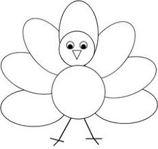 turkey feather clipart black and white clipground