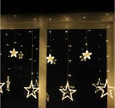 2m led string lights wedding room decorated storefront