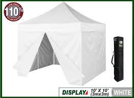 Display Tents Buy Shade Eurmax 10x10 Display Canopy White Eurmax Com