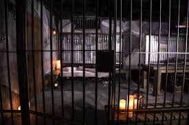for 666 you can spend halloween eve in a recreated alcatraz jail