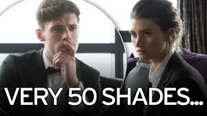 emmerdale compared to fifty shades of grey after debbie dingle u0027s