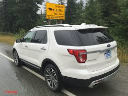 Ford Explorer Platinum - 2016 ford explorer platinum discovering the great outdoors of