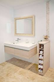Storage Solutions Small Bathroom Bathroom Floating Vanity And Single Sink Also Small Bathroom