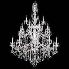 Light Crystal Chandelier Schonbek Arlington Collection 25 Light Crystal Chandelier P0741