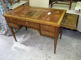 meuble bureau ancien bureau plat louis xvi placage bois de et filets palissandre