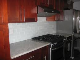 Backsplash Maple Cabinets Glass Subway Tile Backsplash Maple Cabinets Home Design Ideas