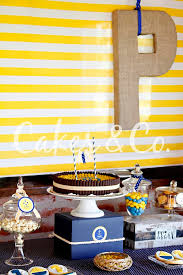 Nautical Themed Giveaways - kara u0027s party ideas yellow and blue nautical birthday party ideas