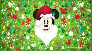 celebrate the season with our santa mickey wallpaper disney