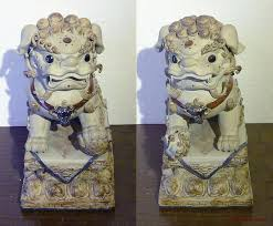 foo lion statue foo dog lion ceramic statue fengshui 14 collection