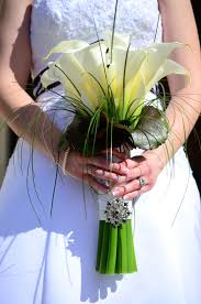 winter park florist bridal bouquet calla lillies created by at fairbanks florist