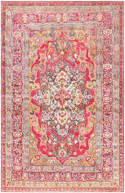 Bright Colored Rugs Antique Silk Persian Kerman Rug 47150 Nazmiyal