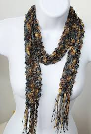 trellis ladder yarn necklace instructions 19 best scarf necklaces images on pinterest