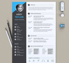 Premium Resume Templates 50 eye catching cv templates for ms word free to
