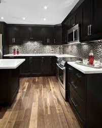 Black Cabinet Kitchen Kitchen Design Espresso Kitchen Cabinets Remodel Black Ideas