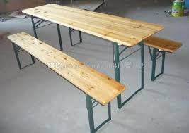 2018 grass beer festival folding table and bench for events from