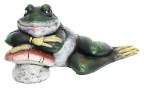 alpine sleeping frog on statue reviews wayfair
