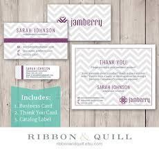 Clear Business Cards Vistaprint Ribbonandquill Jamberry Business Bundle Business Card Thank