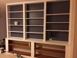 Moving Bookshelves Before U0026 Almost After Built In Bookshelves U2013 Pink O U0027clock