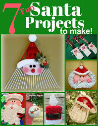 7 santa themed projects to make