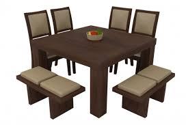 Teak Wood Dining Tables Novara Walnut Dining Table Set 8 Seater Teak Wood Adona Adona