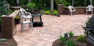 How Much Is A Stamped Concrete Patio by Concrete Patio Cost Per Sq Ft