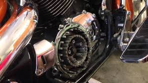 changing the clutch on a 2002 honda shadow sabre 1100 youtube