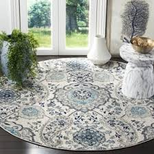 Blue And Grey Area Rug Grey Round Oval U0026 Square Area Rugs For Less Overstock Com