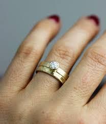 unique women s wedding bands unique wedding ring and band set