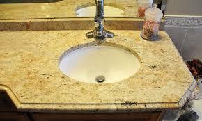 how much is a granite countertop bathroom and vanity countertops