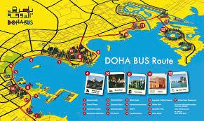 doha qatar map hop on hop with doha marhaba l qatar s premier