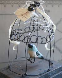 How To Make A Decorative - home dzine craft ideas how to make a wire bird cage