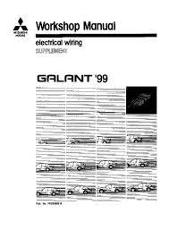1999 mitsubishi galant electrical wiring pdf manual 543 pages