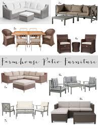Farmhouse Patio Table by Farmhouse Patio Furniture Finds House Of Hargrove
