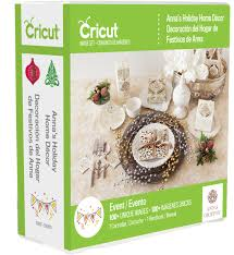 Holiday Home Decorations by Anna U0027s Holiday Home Decor Cricut Cartridge Craftdirect Com