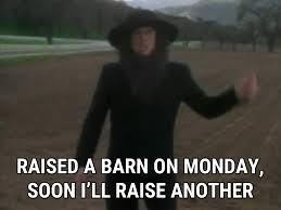 Raise This Barn Lyrics Amish Paradise Lyrics