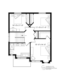 3 bedroom home floor plans house plan w3722 ci detail from drummondhouseplans com