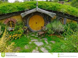 Hobbit Homes For Sale by Hobbit House With Yellow Door Editorial Stock Image Image 41768154